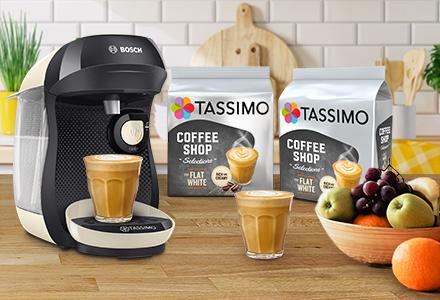 Les dosettes de café compatibles Tassimo